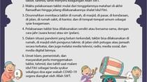 Panduan Takbir Idul Fitri di Rumah dari MUI