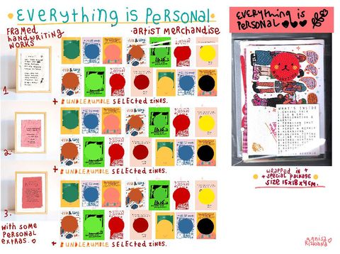 Karya Annisa Rizkiana Rahmasari - Everything is Personal Series