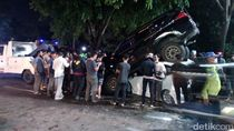 Kecelakaan Beruntun hingga Mobil Bertumpuk-tumpuk