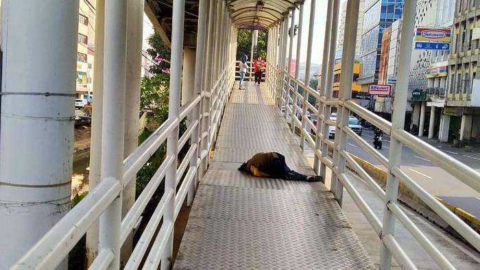 Perampuan pingsan di Hlate Mangga Besar