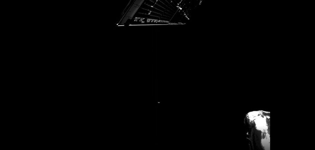 Wahana antariksa BepiColombo potret Bumi dari jarak lima juta mil di luar angkasa.