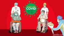 Isolasi di Rumah Sakit, Pedagang Pasar Antri Cimahi Sembuh Corona