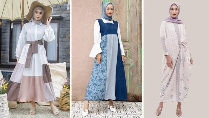 Rekomendasi dress lebaran dari ria miranda