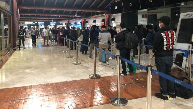 Proses keberangkatan di Terminal 2 Soekarno-Hatta, Jumat 15 Mei 2020 (Ist Angkasa Pura II)