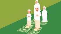 Niat, Tata Cara dan Contoh Singkat Khutbah Sholat Idul Fitri di Rumah