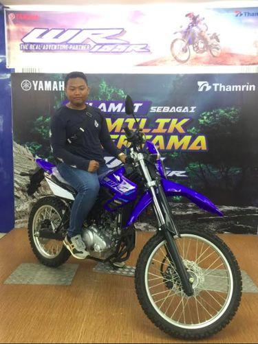 Pemilik Yamaha WR 155R pertama di Indonesia