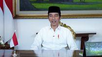 Ucapkan Selamat Idul Fitri, Jokowi: Semoga Ikhtiar Cegah Corona Diridai