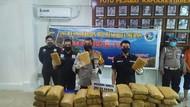 Polisi Tangkap 4 Pengedar Narkoba di Medan, 240 Kg Ganja Diamankan