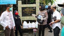 Aksi Bangga Polwan STIK di Tengah Pandemi
