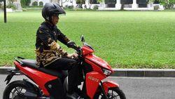 Nuh Ungkap Momen Ngeprank Menang Lelang Motor Jokowi