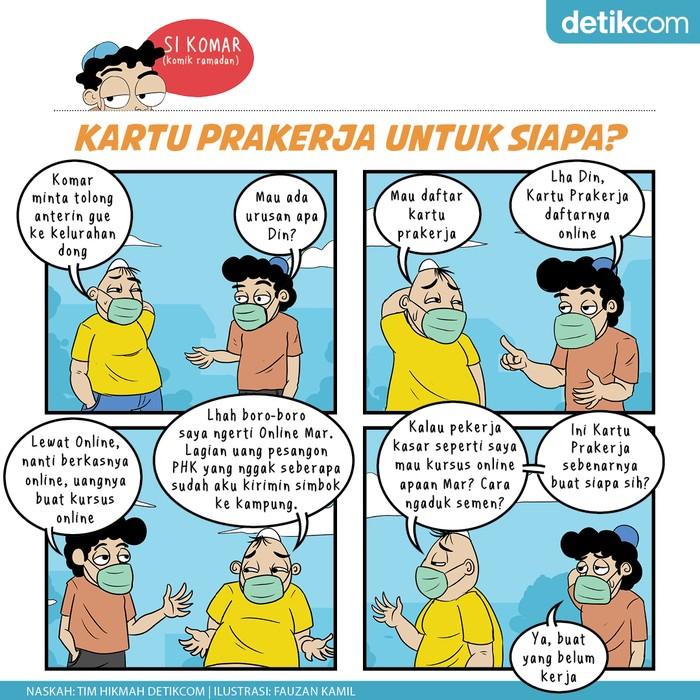 Komik Ramadhan, Kartu Prakerja untuk Siapa?