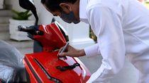 Geger Pemenang Lelang Motor Jokowi Berurusan dengan Polisi