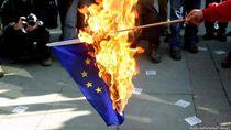 Bakar Bendera Uni Eropa dan Negara Asing di Jerman Bisa Kena Sanksi Penjara
