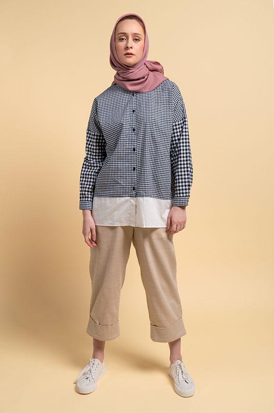 Rekomendasi blus dari @cottoninkmodest