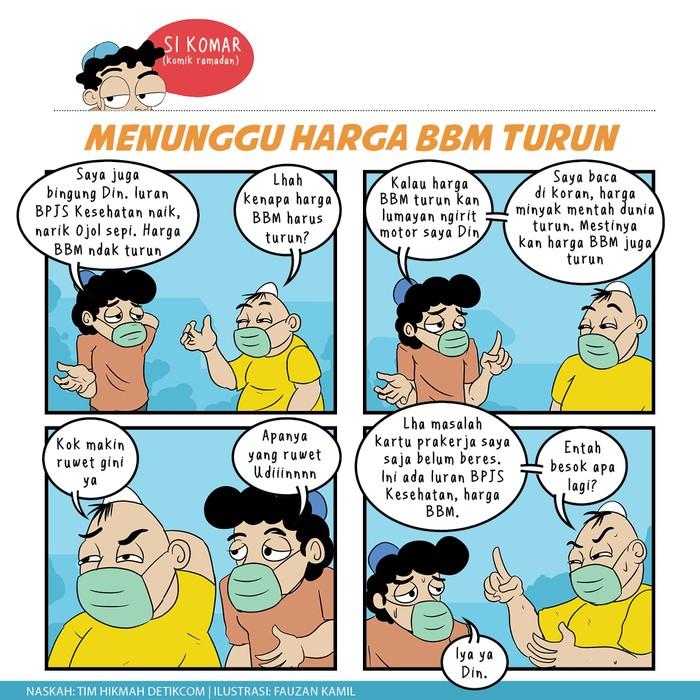 Komik Ramadhan,  Harga BBM