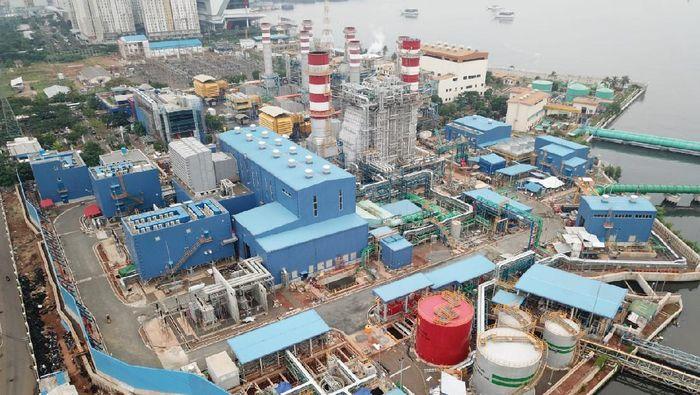 Pembangkit Listrik Tenaga Gas dan Uap (PLTGU) Muara Karang 400 - 500 MW yang dibangun WIKA Foto: Dok. PT Wijaya Karya (Persero) Tbk