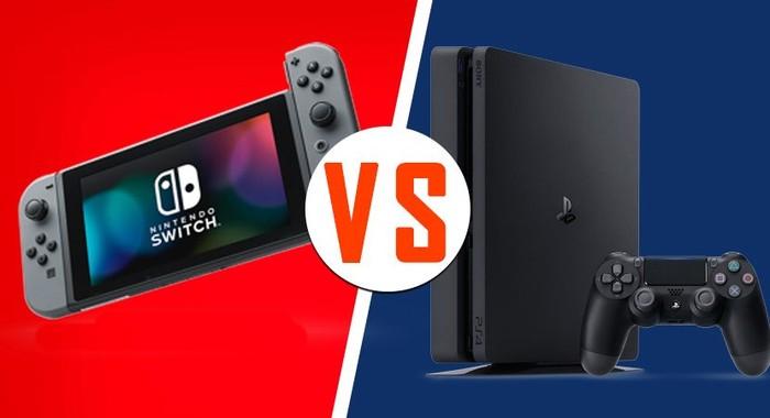 nintendo switch vs ps4