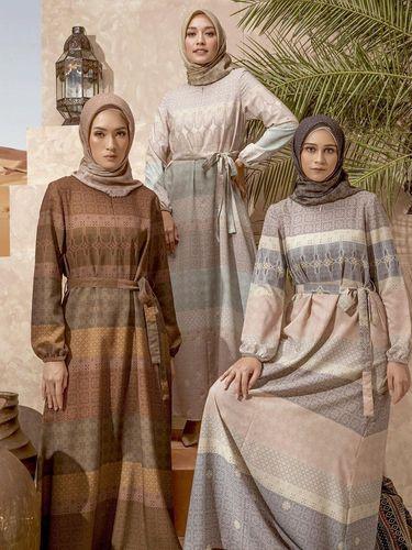 Rekomendasi dress untuk Lebaran.