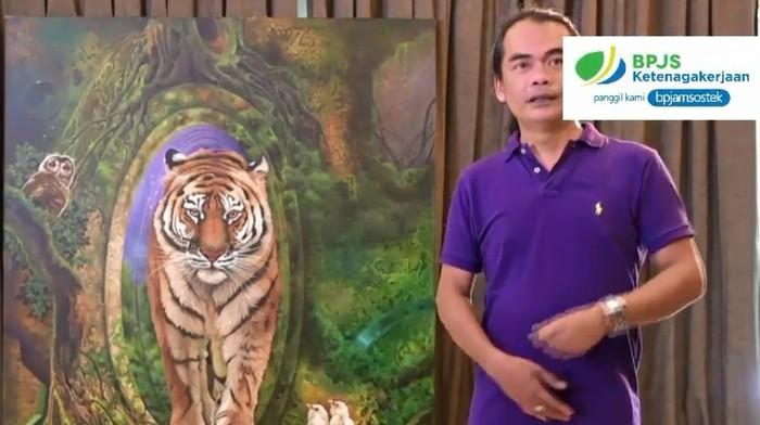 Lukisan Iwan Suhaya