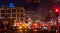 Toko Rokok di Los Angeles Meledak, 11 Pemadam Kebakaran Terluka