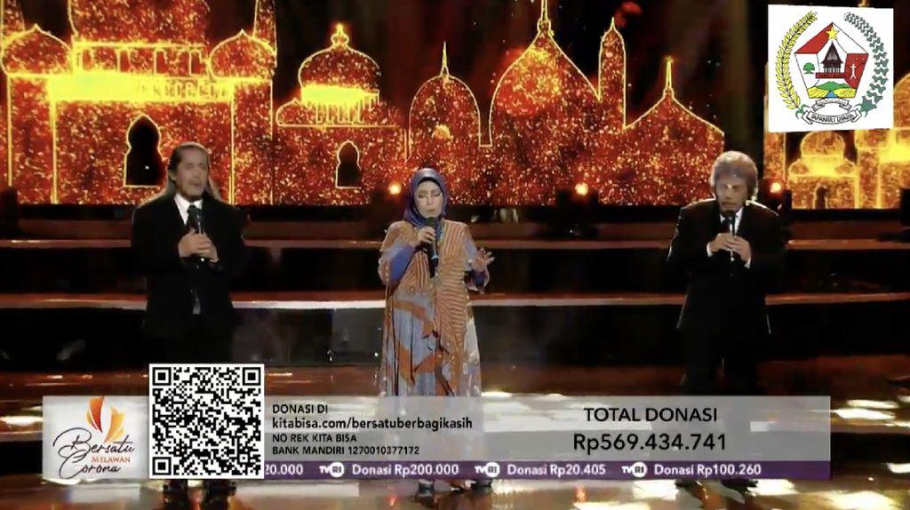 Digelar 2 Jam, Konser Bersatu Melawan Corona Sukses Galang Rp 4 M
