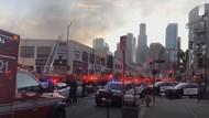 11 Petugas Pemadam Terluka dalam Ledakan di Los Angeles