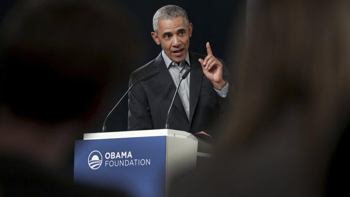 Mantan Presiden AS Barack Obama (AP Photo)