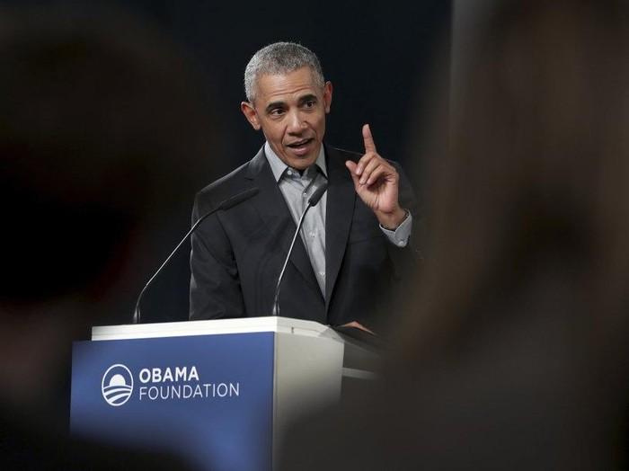 Mantan Presiden AS Barack Obama (AP Photo)