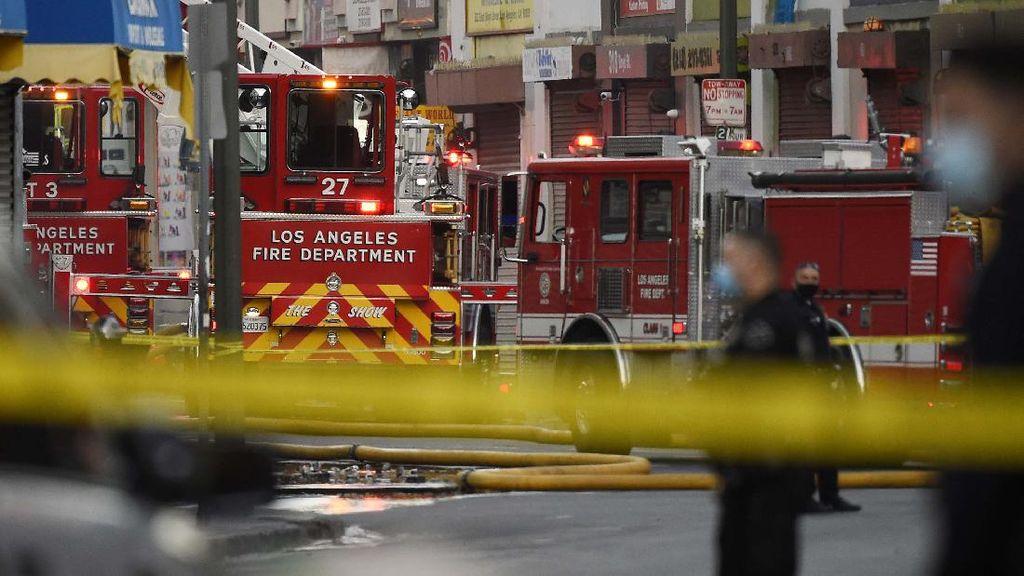 Ledakan yang Menyebabkan Kebakaran Terjadi di Los Angeles
