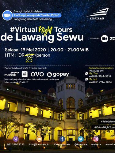 Virtual night tour Lawang Sewu