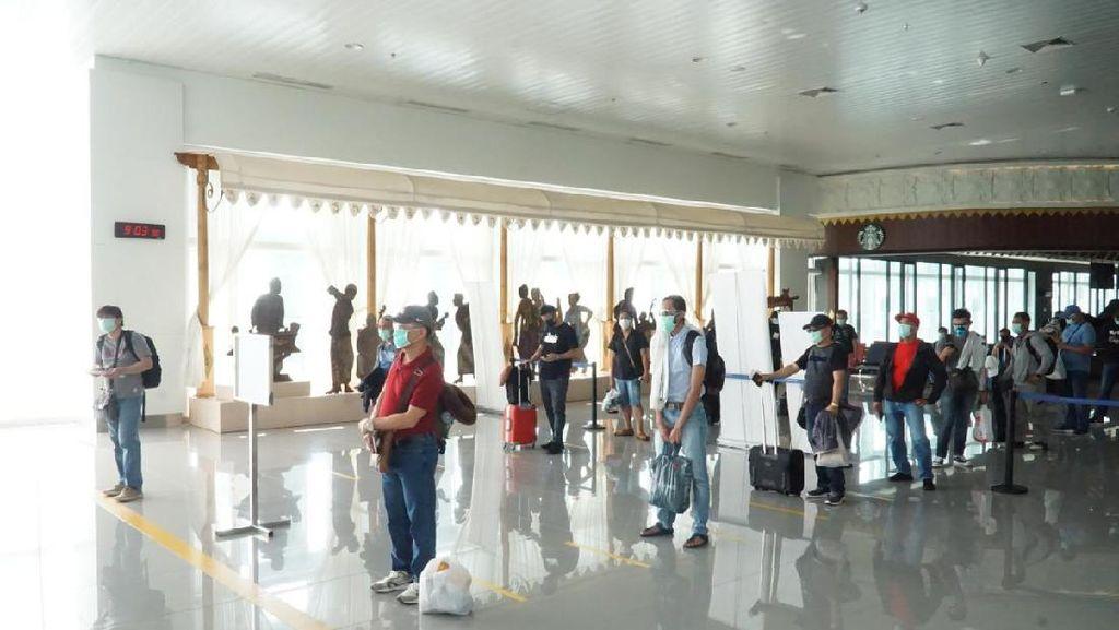 Pedoman New Normal di Bandara Disusun, Bakal Seperti Apa?
