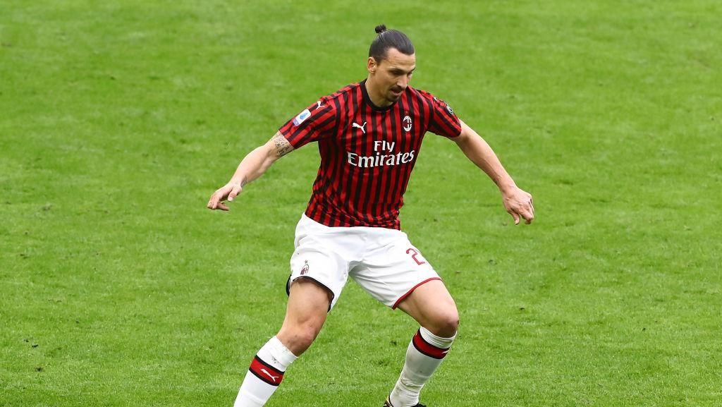 Milan Vs Juventus: Kans Ibrahimovic Perbaiki Rekor Lawan Bianconeri