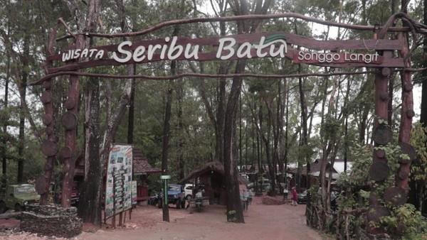 Wisata instagramable ini berada di Dusun Sukarame, Desa Mangunan, Kecamatan Dlingo, Bantul, Yogyakarta. (Nur Setianingsih/dtravelers)