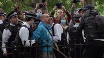 Video Pendemo di London Diamankan Gegara Langgar Social Distancing