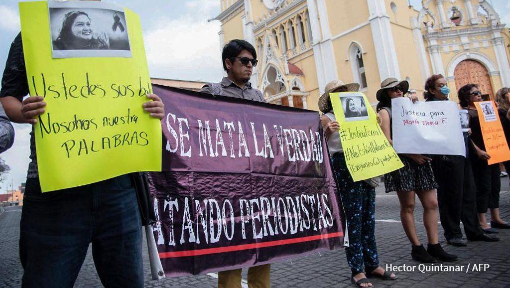 Wartawan Meksiko Lagi-lagi Dibunuh, Kasus Ketiga Dalam Tahun Ini