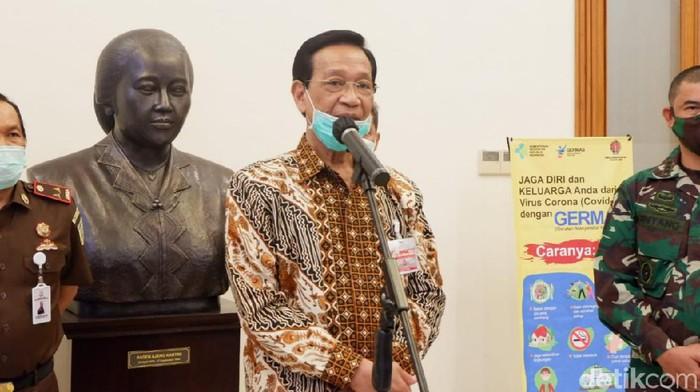 Gubernur DIY Sri Sultan Hamengku Buwono X, Senin (18/5/2020).