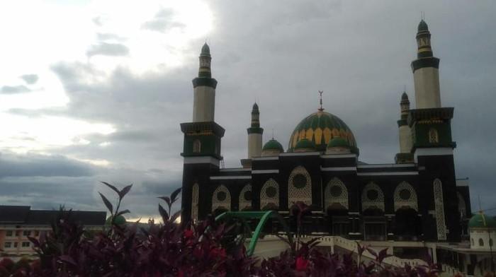 Ilustrasi masjid di Bengkulu (Hery Supandi-detikcom)