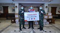 Pertamina Donasikan APD hingga Masker buat Tenaga Medis TNI AL