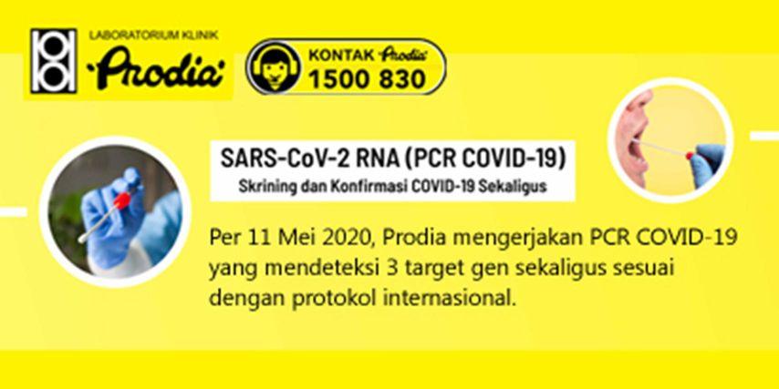 Dukung Upaya Pemerintah Prodia Sediakan Pemeriksaan Pcr Covid 19