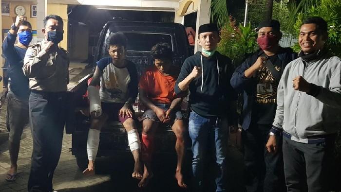 Dua Pelaku Begal di Maros Ditangkap