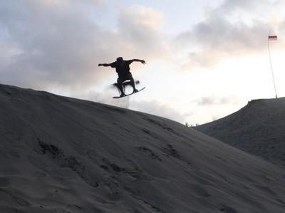 Sahara van Garut di Gumuk Pasir Tungtung Karang