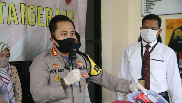Polresta Tangerang tangkap pelaku penipuan modus parsel lebaran