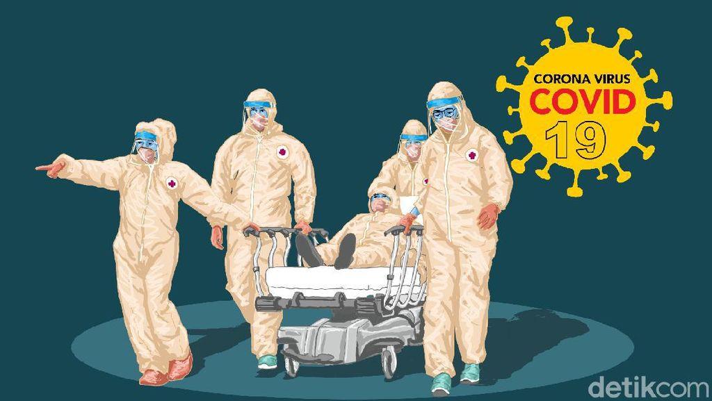 Jumlah Pasien COVID-19 Meningkat, Tim Medis RSAM Bukittinggi Kewalahan