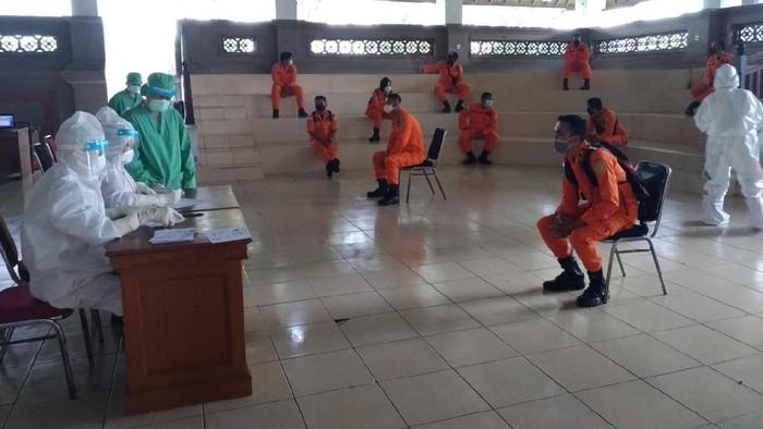 Basarnas Bali jalani rapid test (Dok. Basarnas Bali)