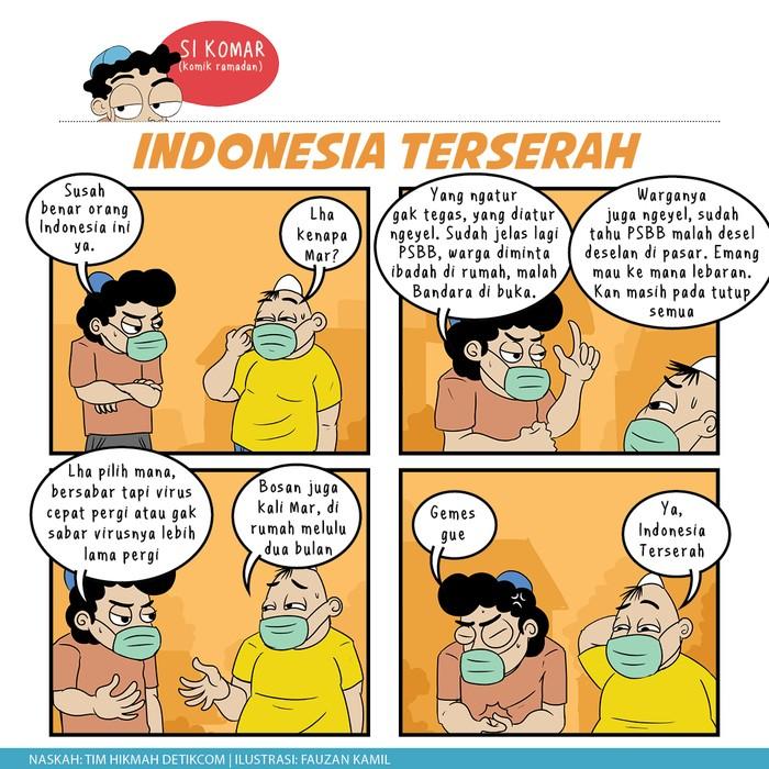 Komik Ramadhan, Indonesia Terserah