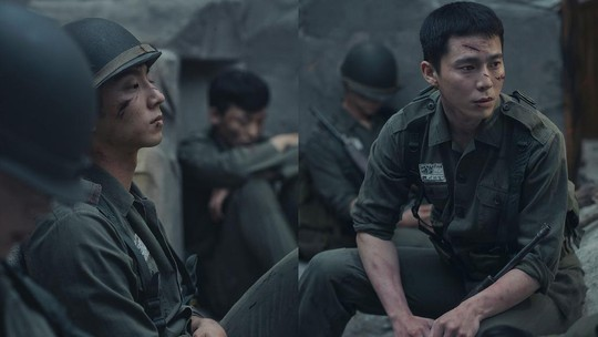 Foto-foto D.O & Xiumin EXO, Sejeong gugudan dan Yoon Ji Sung untuk Musikal Militer