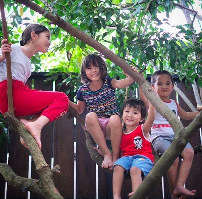 Anak-anak Zaskia Mecca belajar puasa