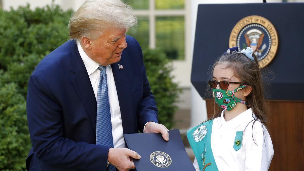 Didesak Pakai Masker di Depan Umum, Ini Kata Trump