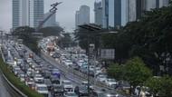 Potret Kemacetan Jakarta Sore Ini