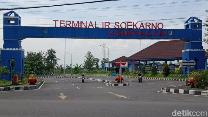 Terminal Ir Soekarno, Klaten, Senin (18/5/2020).
